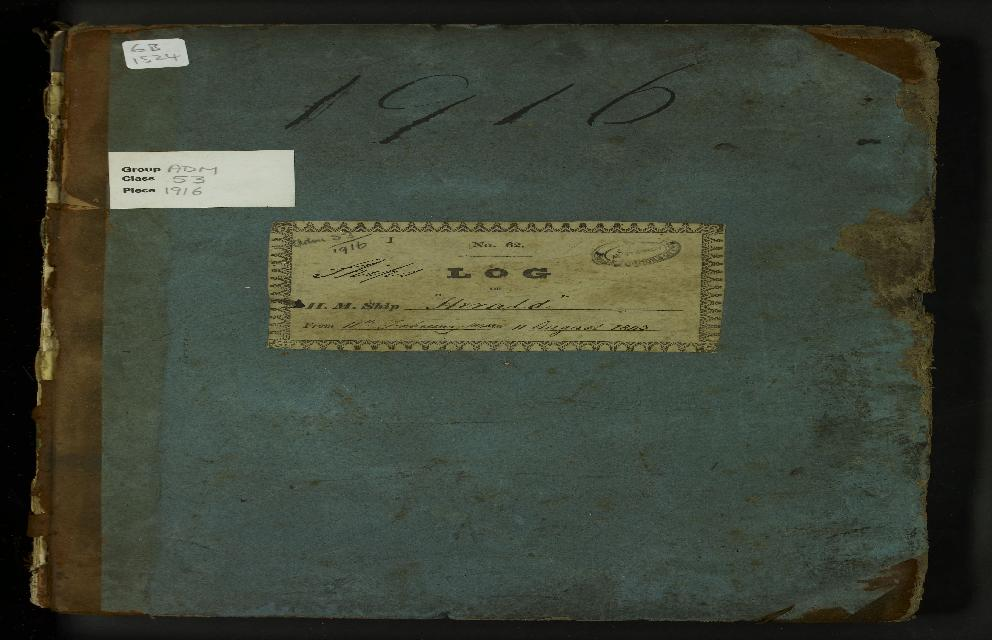 Image of page from logbook http://data.ceda.ac.uk/badc/corral/images/adm53_medium/p1916/med_adm53_p1916_001.jpg