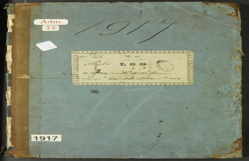 Image of page from logbook http://data.ceda.ac.uk/badc/corral/images/adm53_medium/p1917/med_adm53_p1917_001.jpg