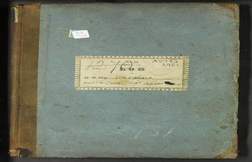 Image of page from logbook http://data.ceda.ac.uk/badc/corral/images/adm53_medium/p2981/med_adm53_p2981_001.jpg