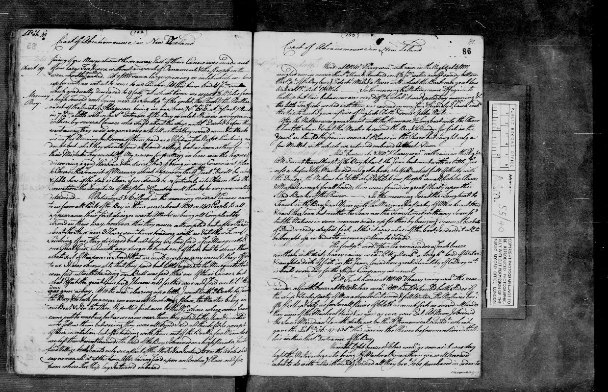 Image of page from logbook http://data.ceda.ac.uk/badc/corral/images/adm55_medium/log040/med_adm55_log040_page091.jpg