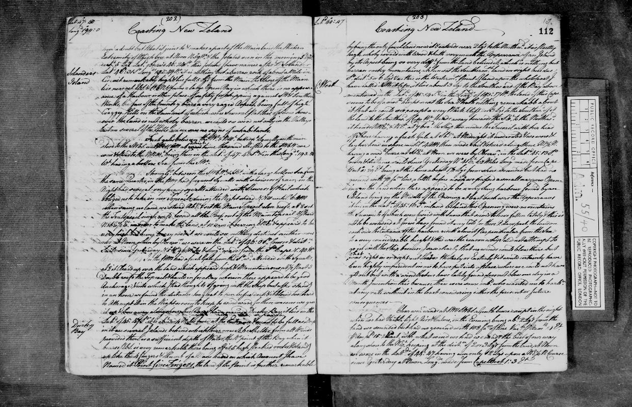 Image of page from logbook http://data.ceda.ac.uk/badc/corral/images/adm55_medium/log040/med_adm55_log040_page117.jpg