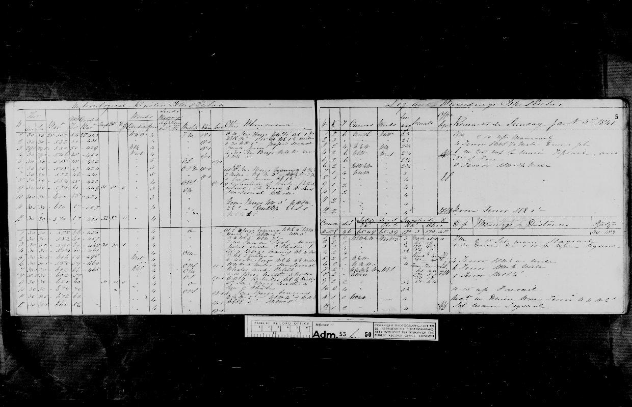 Image of page from logbook http://data.ceda.ac.uk/badc/corral/images/adm55_medium/log050/med_adm55_log050_page008.jpg