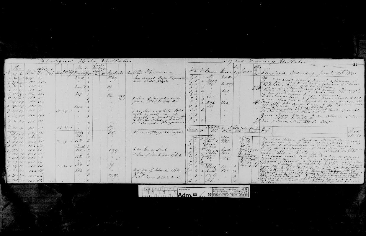 Image of page from logbook http://data.ceda.ac.uk/badc/corral/images/adm55_medium/log050/med_adm55_log050_page026.jpg