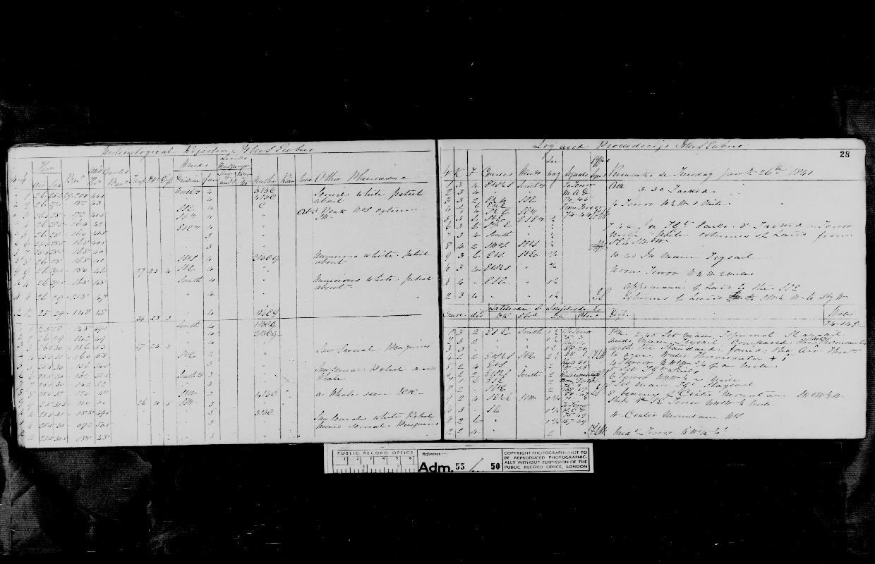 Image of page from logbook http://data.ceda.ac.uk/badc/corral/images/adm55_medium/log050/med_adm55_log050_page033.jpg