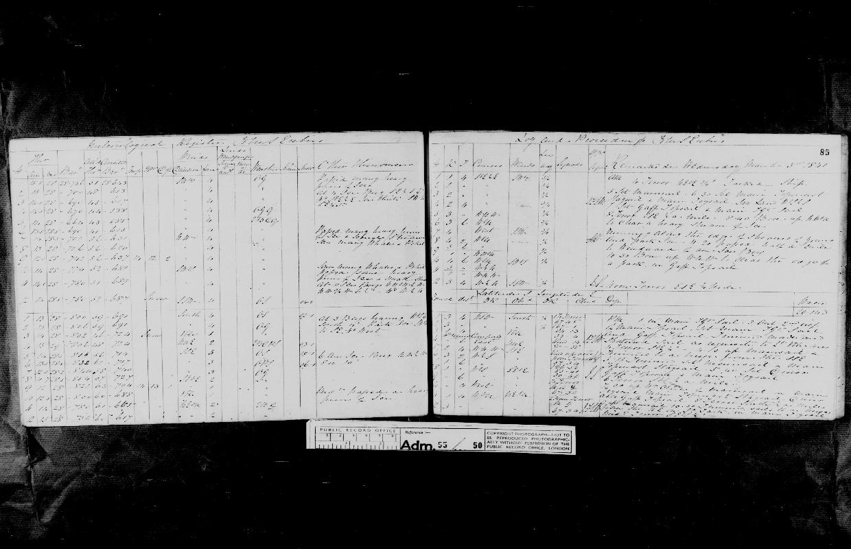 Image of page from logbook http://data.ceda.ac.uk/badc/corral/images/adm55_medium/log050/med_adm55_log050_page079.jpg