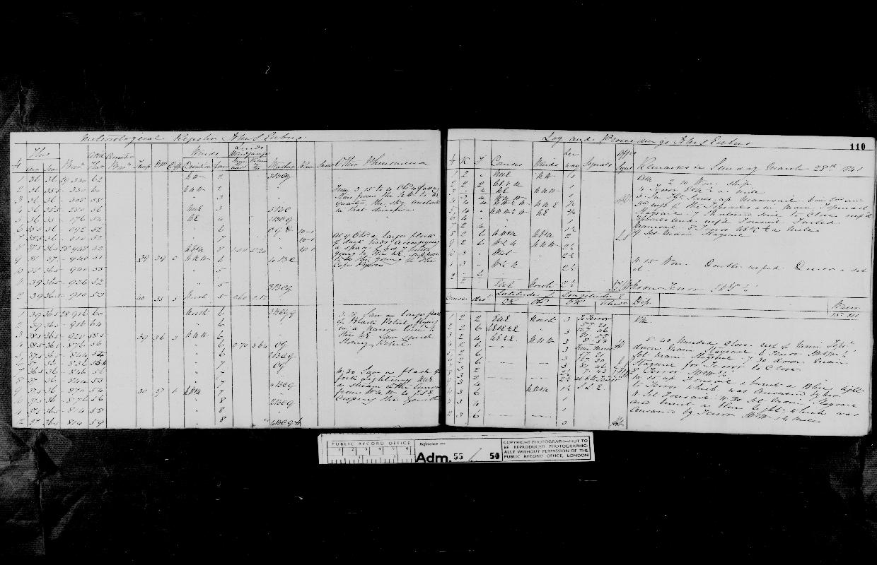 Image of page from logbook http://data.ceda.ac.uk/badc/corral/images/adm55_medium/log050/med_adm55_log050_page107.jpg