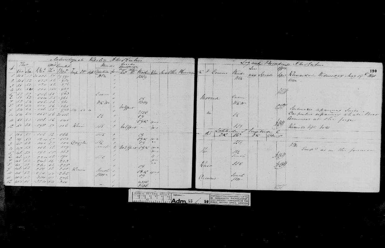 Image of page from logbook http://data.ceda.ac.uk/badc/corral/images/adm55_medium/log050/med_adm55_log050_page172.jpg