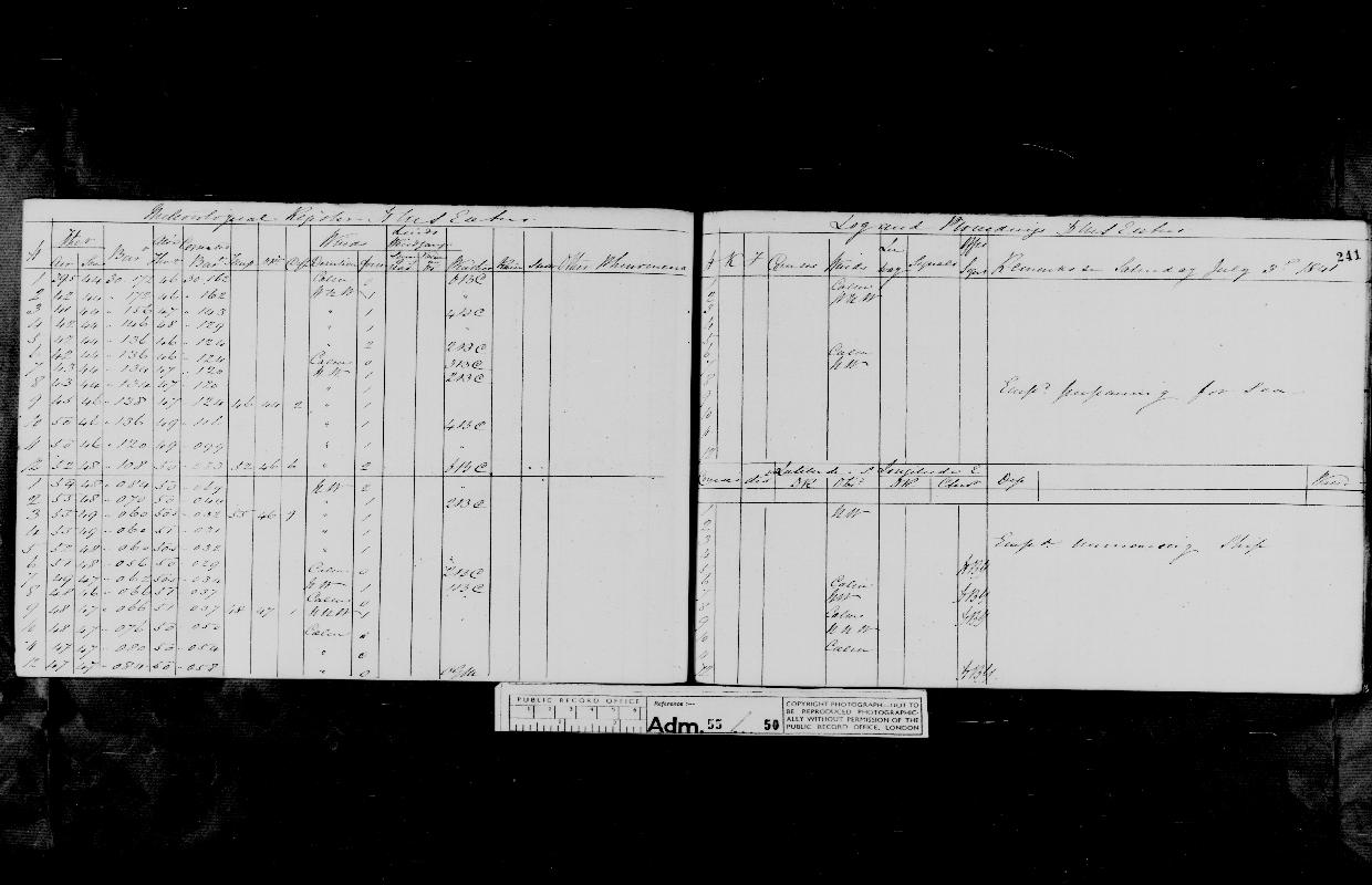 Image of page from logbook http://data.ceda.ac.uk/badc/corral/images/adm55_medium/log050/med_adm55_log050_page226.jpg