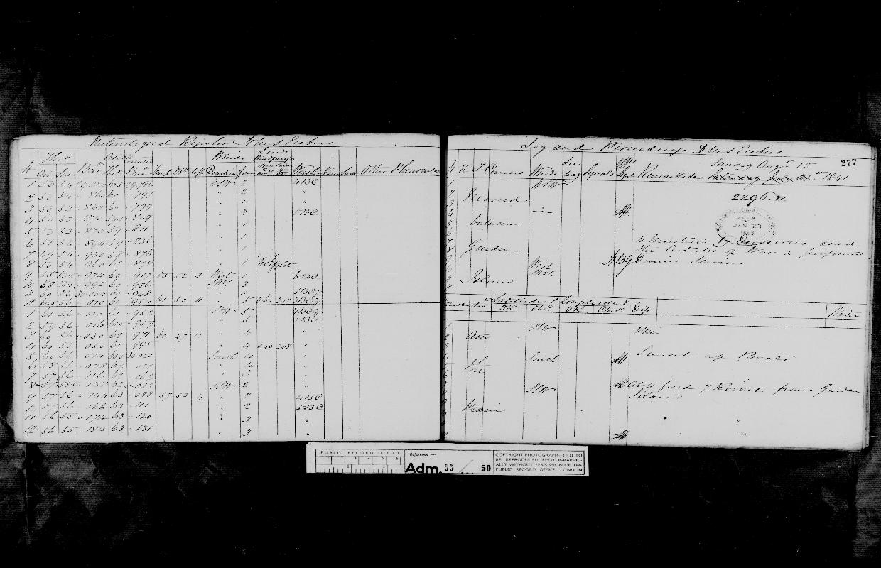 Image of page from logbook http://data.ceda.ac.uk/badc/corral/images/adm55_medium/log050/med_adm55_log050_page261.jpg