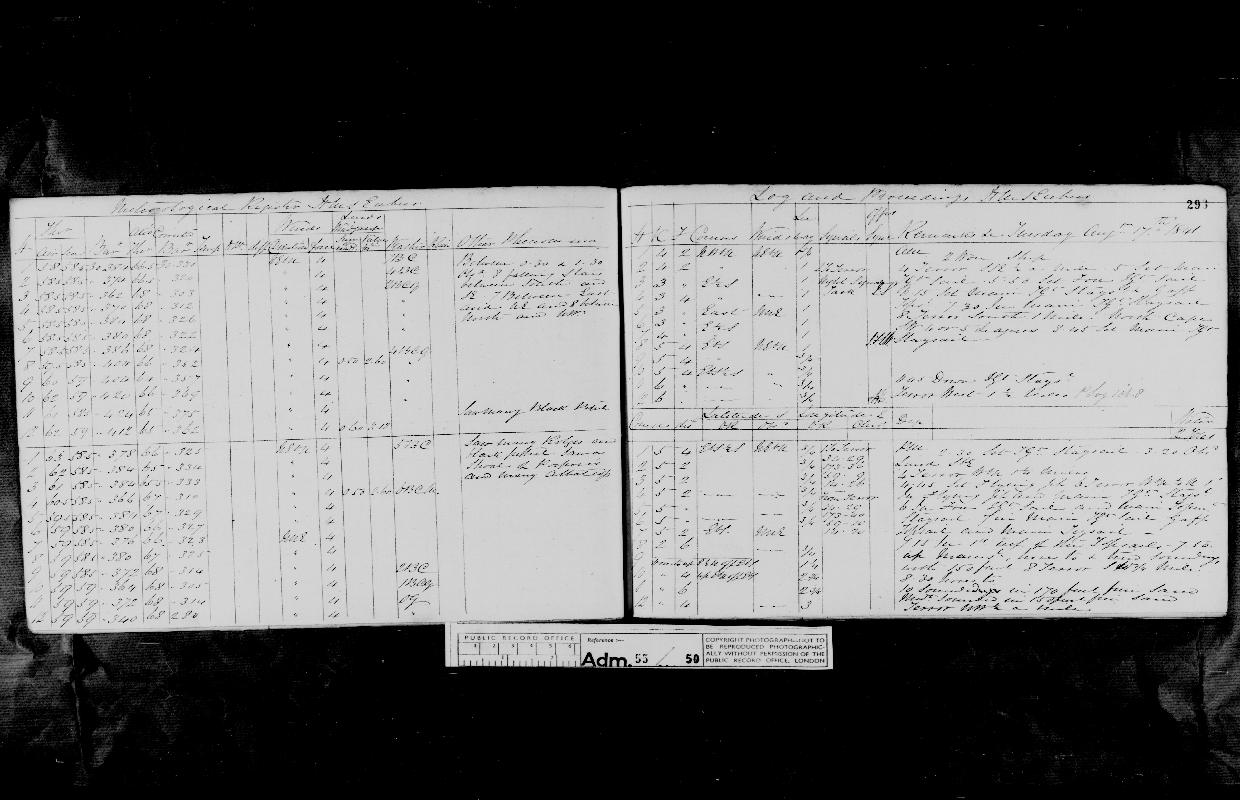 Image of page from logbook http://data.ceda.ac.uk/badc/corral/images/adm55_medium/log050/med_adm55_log050_page278.jpg