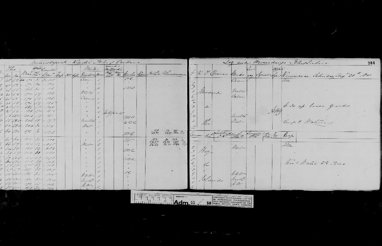 Image of page from logbook http://data.ceda.ac.uk/badc/corral/images/adm55_medium/log050/med_adm55_log050_page291.jpg