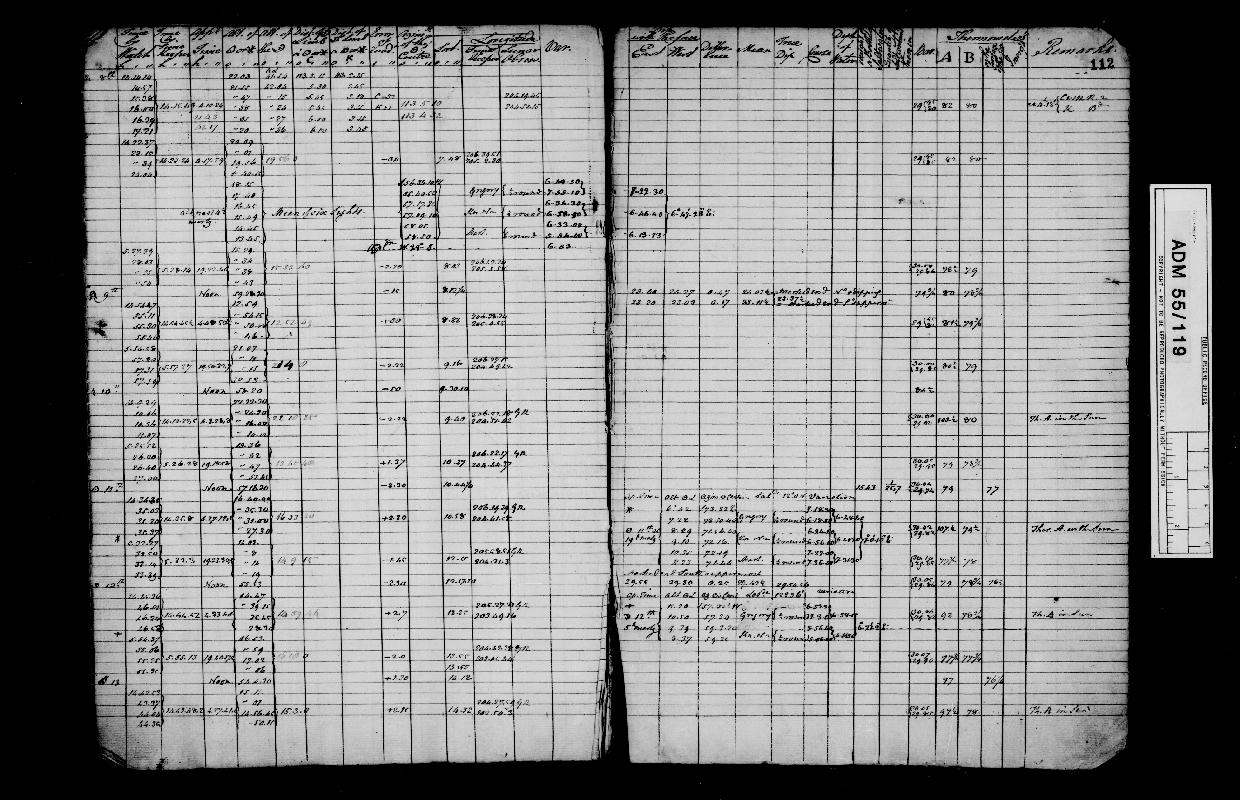 Image of page from logbook http://data.ceda.ac.uk/badc/corral/images/adm55_medium/log119/med_adm55_log119_page114.jpg