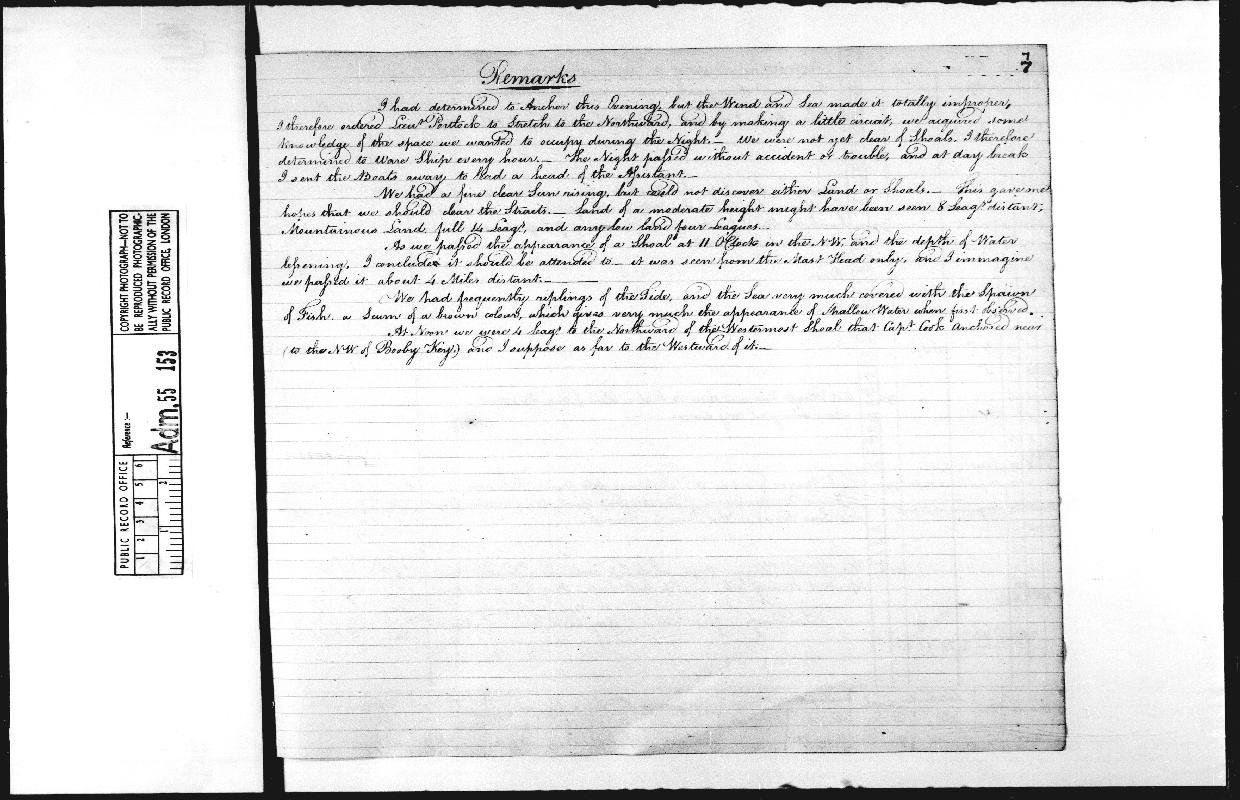 Image of page from logbook http://data.ceda.ac.uk/badc/corral/images/adm55_medium/log153/med_adm55_log153_page014.jpg